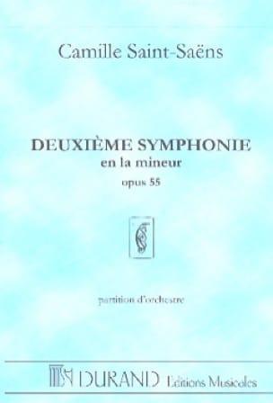 Symphonie n° 2 op. 55 - SAINT-SAËNS - Partition - laflutedepan.com