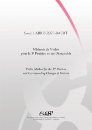 Méthode de Violon pour la 3ème Position et ses Démanchés - laflutedepan.com