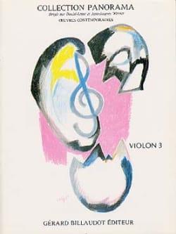Panorama Violon Volume 3 Partition Violon - laflutedepan