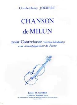 Chanson de Milun - Claude-Henry Joubert - Partition - laflutedepan.com
