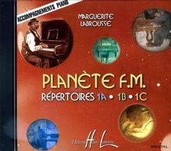 CD - Planète FM Volume 1 - Accompagnement piano laflutedepan