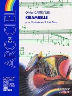 Ribambelle Olivier Dartevelle Partition Clarinette - laflutedepan