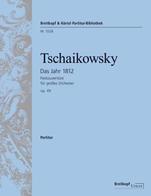Ouverture 1812 Op. 49 TCHAIKOVSKY Partition laflutedepan