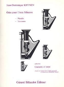 Odes pour l'Asie Mineure - Clarinette et Harpe - laflutedepan.com