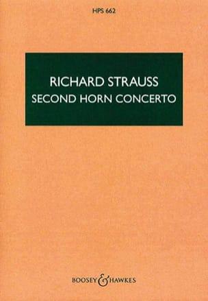 Second horn Concerto - Score Richard Strauss Partition laflutedepan
