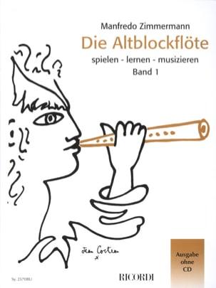 Die Altblockflöte Band 1 - ohne CD - laflutedepan.com