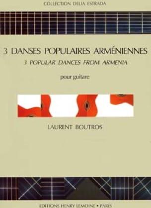Danses Popul. Arméniennes 3 - Guitare - laflutedepan.com
