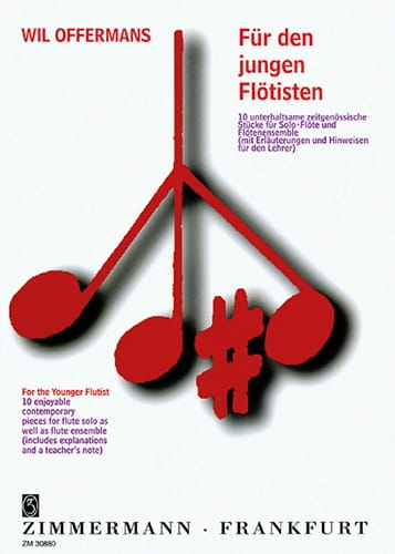 For the younger Flutist - Wil Offermans - Partition - laflutedepan.com