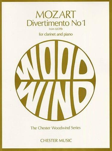 Divertimento n° 1 KV 439b - Clarinet and piano - laflutedepan.com