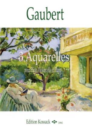 3 Aquarelles - Trio flûte, violoncelle et piano - laflutedepan.com