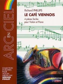 Le Café viennois Richard Phillips Partition Violon - laflutedepan