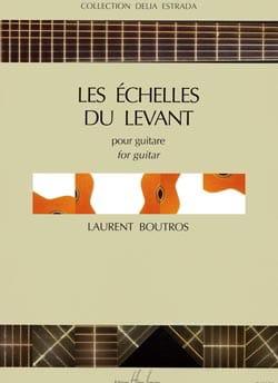 Les Echelles du Levant Laurent Boutros Partition laflutedepan