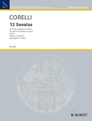 12 Sonates op. 5, Volume 2 7 à 12 Paumgartner CORELLI laflutedepan