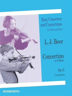 Concertino in E minor op. 47 - Violin Leopold Josef Beer laflutedepan