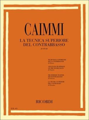 La technica superiore del contrabbasso Italo Caimmi laflutedepan