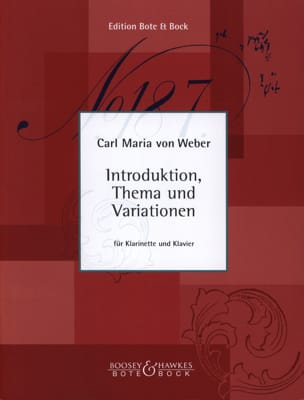 Introduktion, Thema und Variationen -Klarinette Klavier laflutedepan