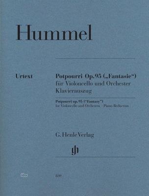 Pot-pourri Fantaisie op. 95 pour violoncelle et orchestre laflutedepan