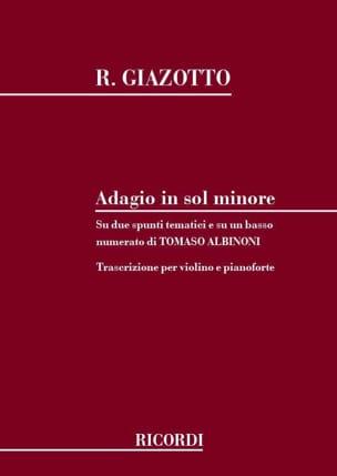 Adagio in sol minore - Violon laflutedepan