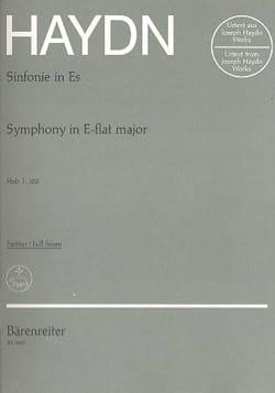 Symphonie Nr. 103 Mi Bémol Majeur - Partitur HAYDN laflutedepan