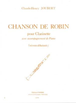 Chanson de Robin - Claude-Henry Joubert - Partition - laflutedepan.com