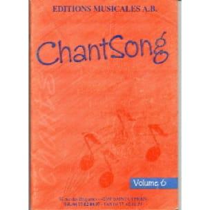 Chantsong - Volume 6 - AB - Partition - Solfèges - laflutedepan.com