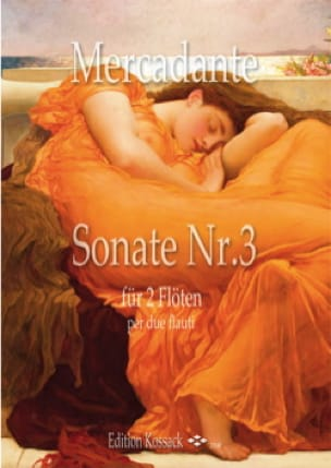 Sonate n° 3 - 2 Flûtes - Saverio Mercadante - laflutedepan.com