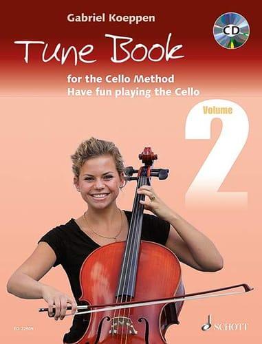 Tune Book for the Cello Method - Volume 2 - laflutedepan.com
