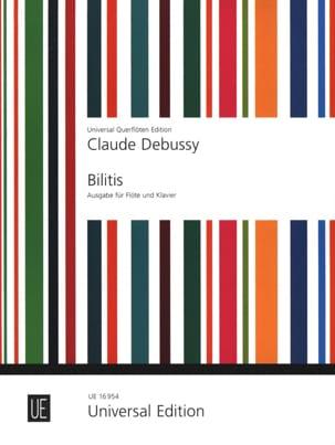 Bilitis - Flûte piano DEBUSSY Partition laflutedepan