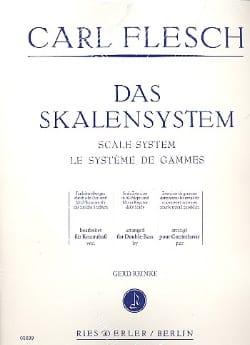 Le Système de Gammes - Contrebasse Carl Flesch Partition laflutedepan