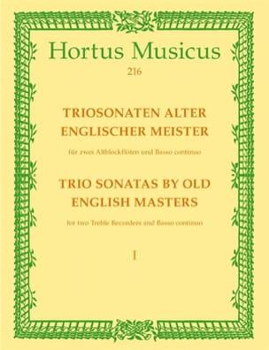 Triosonaten alter englischer Meister - 2 AltblockflötenBc laflutedepan