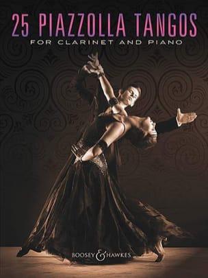 25 Piazzolla Tangos for Clarinet and Piano laflutedepan