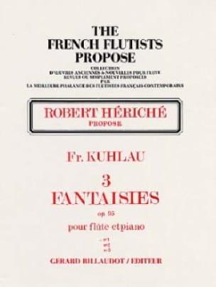 3 Fantaisies op. 95 - n° 1 - Friedrich Kuhlau - laflutedepan.com