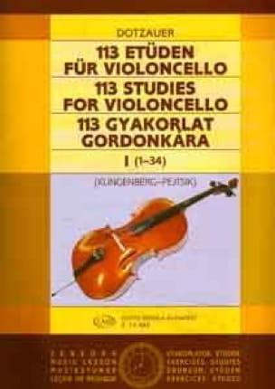 113 Etüden für Violoncello - Heft 1 1-34 - laflutedepan.com