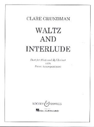 Waltz and Interlude - Flute clarinet piano - laflutedepan.com