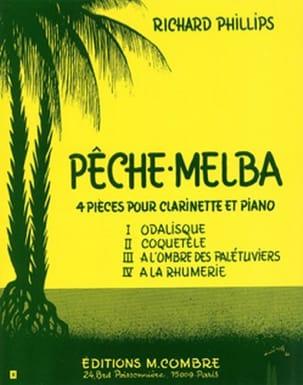 Pêche-Melba Richard Phillips Partition Clarinette - laflutedepan