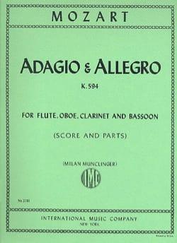 Adagio et Allegro, Kv 594 - Flûte-Hautbois-Clarinette-Basson laflutedepan