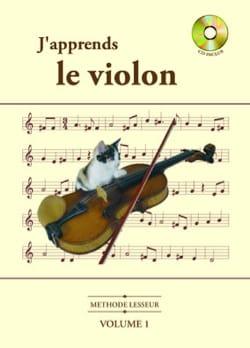 J' Apprends le Violon Volume 1 Olivier Lesseur Partition laflutedepan