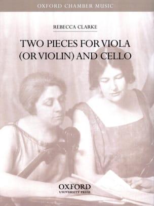 Two pieces for viola or violin and cello Rebecca Clarke laflutedepan