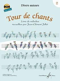 Tour de Chants Volume 2 - Jean-Clément Jollet Partition laflutedepan