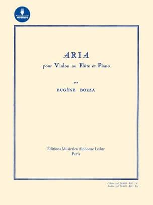 Aria - Violon ou flûte et piano - AVEC CARTE DE TÉLÉCHARGEMENT laflutedepan