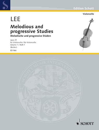 Melodische und progressive Etüden op. 31 - Heft 1 - laflutedepan.com