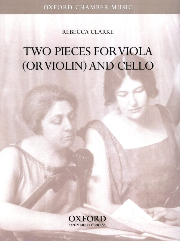 Two pieces for viola or violin and cello - laflutedepan.com