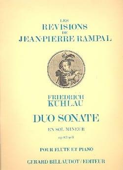 Duo Sonate En Sol Mineur Op83 No3 - laflutedepan.com