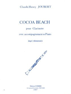 Cocoa-Beach Claude-Henry Joubert Partition Clarinette - laflutedepan
