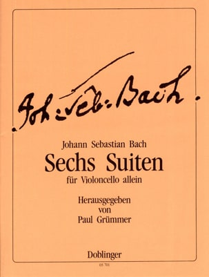 BACH - 6 Suites, BWV 1007-1012 - Partition - di-arezzo.co.uk