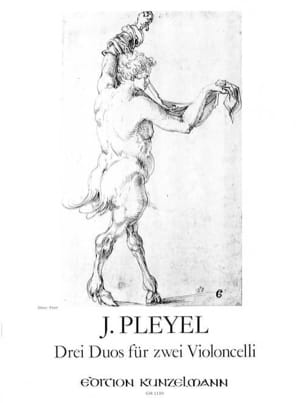 3 Duos für 2 Violoncelli - Ignaz Pleyel - Partition - laflutedepan.com