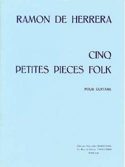 5 Petites pièces folk - Ramon de Herrera - laflutedepan.com