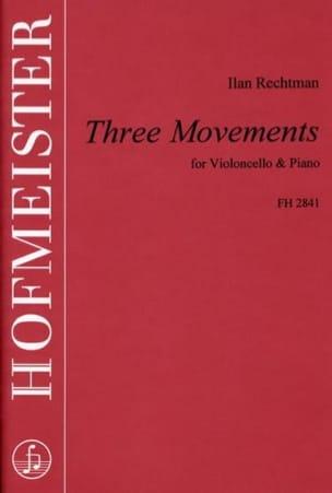 Three Movements - Ilan Rechtman - Partition - laflutedepan.com