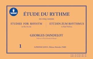 Étude du Rythme Volume 1 - AVEC CARTE DE TÉLÉCHARGEMENT laflutedepan