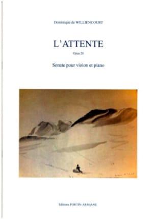 L'Attente, Opus 20 - Sonate pour Violon et Piano - laflutedepan.com